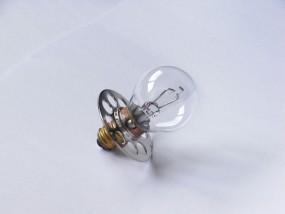 2 x Kugellampe 6V, 4,5A, E14 m. Platte (Haag Streit 900-930)