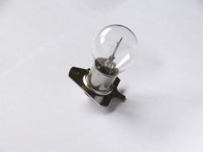 2 x Mikroskoplampe (Zeiss, 390158), 6V, 30W, Ba20d Dreiecksplatte